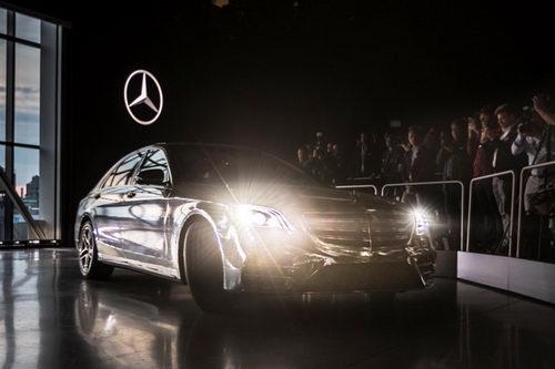 Mercedes-Benz S-Class 2018 lộ diện ở New York - 4