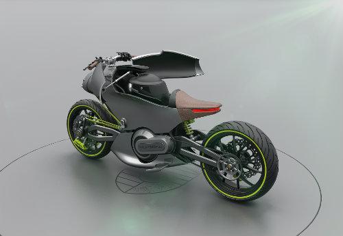 Hình dung trước siêu môtô của Porsche - 3