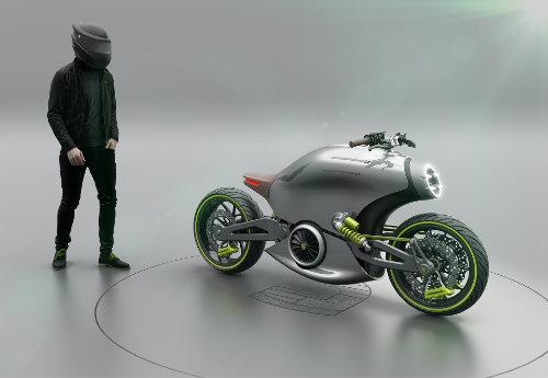 Hình dung trước siêu môtô của Porsche - 2