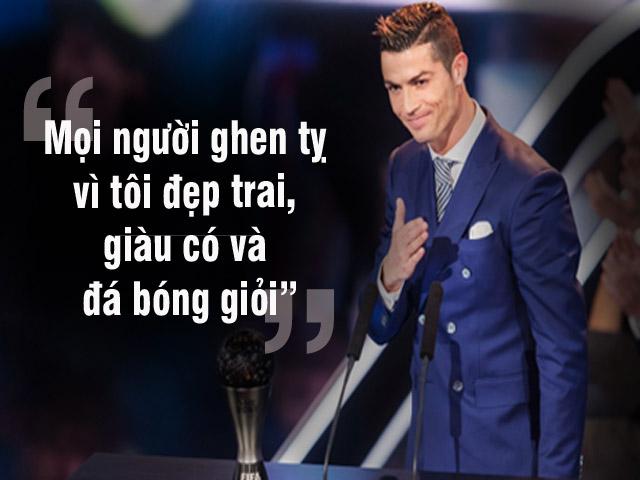 Ronaldo giỏi, giàu, đẹp trai: Ai đang ghen tức với anh?