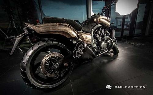 """Yamaha SteamPunk V-Max 1700 độ da quá """"khủng"""" - 2"""