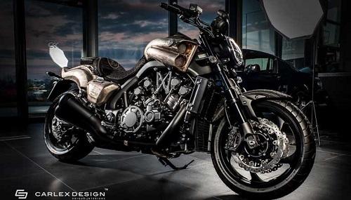 """Yamaha SteamPunk V-Max 1700 độ da quá """"khủng"""" - 1"""