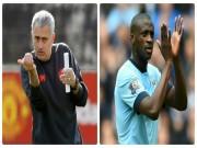 Bóng đá - Chuyển nhượng MU: Mourinho gây sốc với Yaya Toure