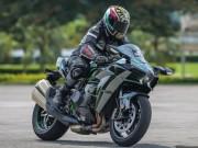 """Thế giới xe - Cận cảnh """"bóng ma"""" Kawasaki Ninja H2 giá hơn 1 tỷ đồng"""