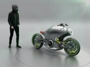 Thế giới xe - Hình dung trước siêu môtô của Porsche