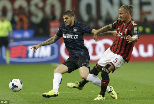 """Inter Milan - AC Milan: Thành Milano nghiêng ngả """"derby Trung Quốc"""" - 1"""