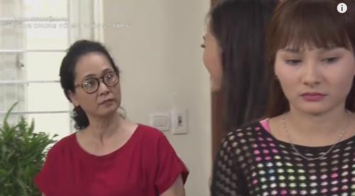 """Con dâu ngất xỉu vì bà mẹ """"săm soi"""" nhất màn ảnh Việt - 1"""