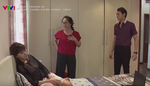 """Con dâu ngất xỉu vì bà mẹ """"săm soi"""" nhất màn ảnh Việt - 2"""