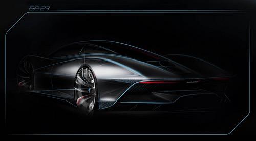 Siêu xe McLaren bán hết ngay từ khi còn là phác thảo - 1