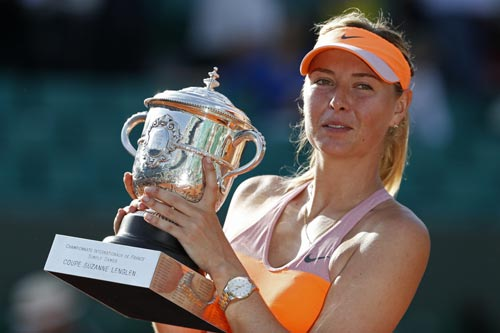 Giàu nhất tennis nữ: Sharapova dưới 1 người, trên cả vạn - 1