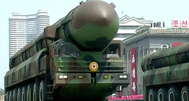 Triều Tiên khoe tên lửa đạn đạo tầm bắn bao phủ toàn Mỹ - 1
