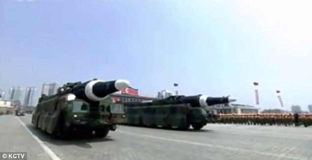 Triều Tiên khoe tên lửa đạn đạo tầm bắn bao phủ toàn Mỹ - 2