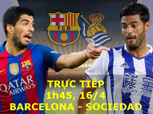 TRỰC TIẾP bóng đá Barcelona - Sociedad: Đứng dậy sau cú ngã đau