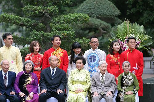 Độc đáo lễ cưới nơi cửa phật của 14 cặp đôi Hà Thành - 9