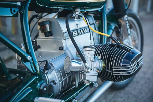 Ngất lịm trước vẻ đẹp BMW R100T độ cafe racer - 8