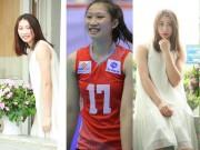 Hot girl bóng chuyền VN 19 tuổi: Chân dài 1m75 mê trà sữa