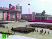 Thế giới - Video: Hàng chục ngàn quân Triều Tiên rầm rộ duyệt binh