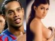 """Cô gái đánh bật dàn """"chân dài"""" vây quanh Ronaldinho là ai?"""