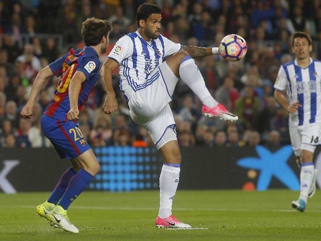 Barcelona - Sociedad: Hiệp 1 điên rồ & tiệc bàn thắng