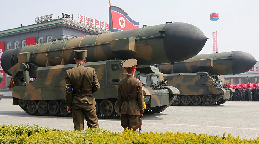 Triều Tiên phóng tên lửa, nổ ngay sau khi rời bệ phóng - 1