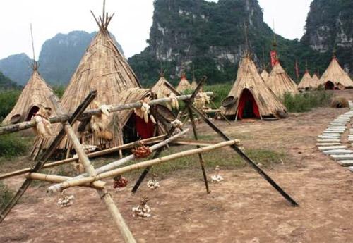"""""""Sờ tận tay"""" làng thổ dân Ninh Bình trong phim """"Kong"""" - 3"""