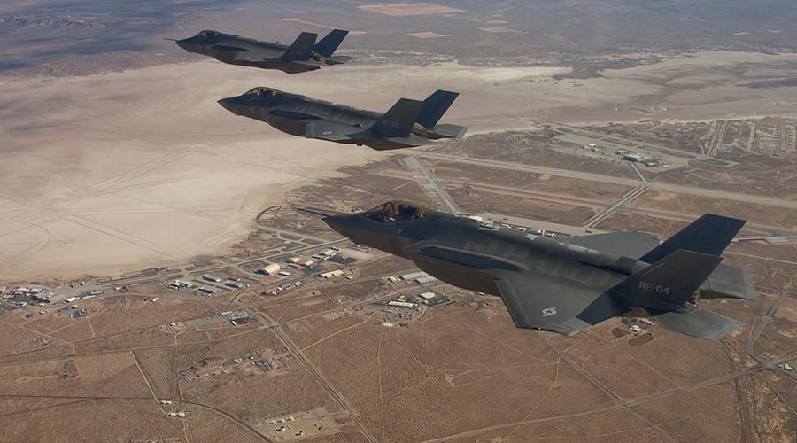 Mỹ đưa tiêm kích F-35 tới châu Âu giữa căng thẳng với Nga - 1