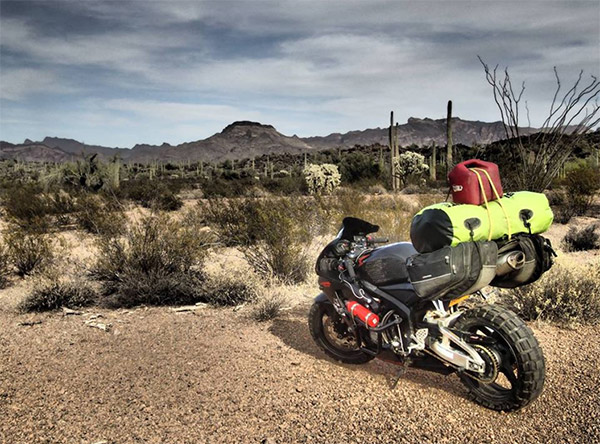 Chia tay bạn trai, cô gái một mình lái moto phượt khắp thế giới - 8