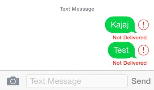 Khắc phục lỗi không thể gửi tin nhắn trên ứng dụng iMessage - 1
