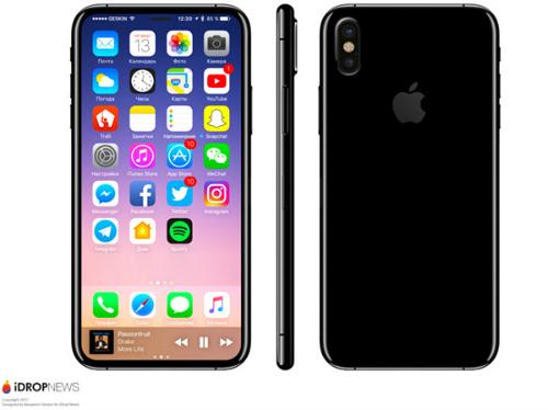 Tiếp tục rò rỉ hình ảnh concept và thiết kế iPhone 8 - 3