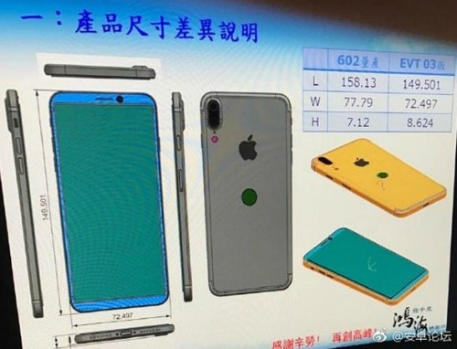 Tiếp tục rò rỉ hình ảnh concept và thiết kế iPhone 8 - 1