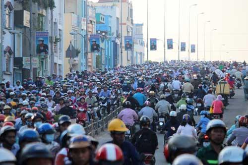 """5.400 tỷ đồng mở đường """"giải cứu"""" cửa ngõ Nam Sài Gòn - 1"""