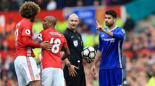 """""""Côn đồ"""" Costa băm bổ, ăn vạ: Nghi án phá đám Chelsea - 1"""