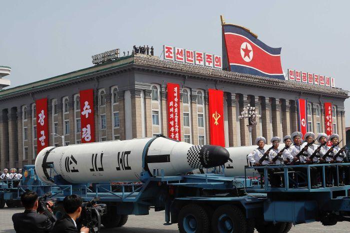 Tên lửa Triều Tiên nổ tung: Có bàn tay Mỹ can thiệp? - 1