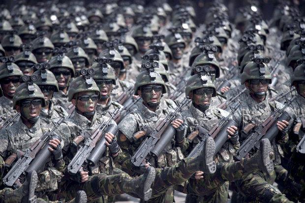 """Triều Tiên tung đặc nhiệm """"tia chớp"""" đối phó Mỹ-Hàn Quốc - 2"""