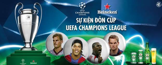 Bùng nổ xúc cảm đón cúp UEFA Champions League cùng Ronaldinho, Frank De Boer và Ronald De Boer - 1