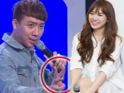 """Trấn Thành bị nghi  """" nhắc bài """"  cho Hari Won thắng 50 triệu"""