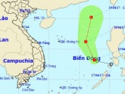 Tin tức trong ngày - Áp thấp nhiệt đới giật cấp 7-8, áp sát quần đảo Trường Sa