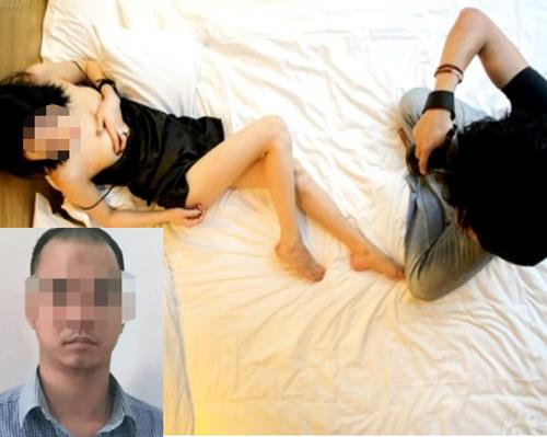 """""""Thợ chụp ảnh"""" đóng cảnh sex với gái trẻ để quảng cáo bán dâm - 1"""