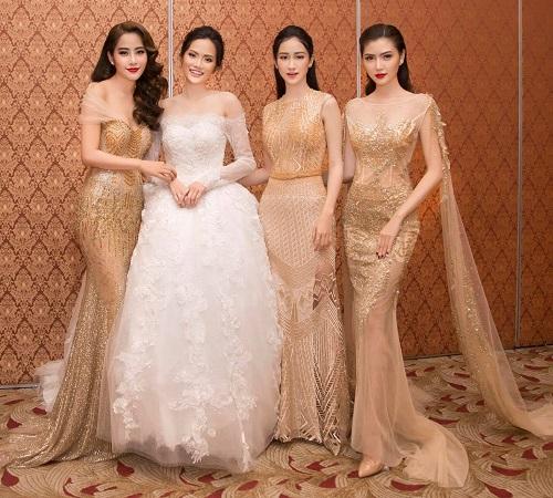 """Váy xẻ đến tận hông của Hà Anh """"đốt mắt"""" nhất tuần qua - 3"""