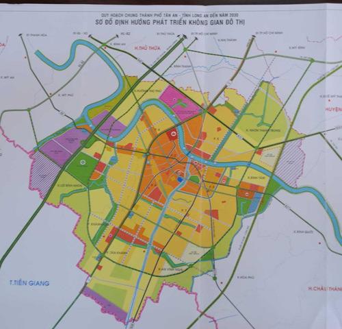Bất động sản Tân An sôi động nhờ kết nối hạ tầng - 2