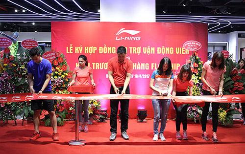 Li-Ning Royal ra mắt cửa hàng Flagship đầu tiên tại Việt Nam - 1