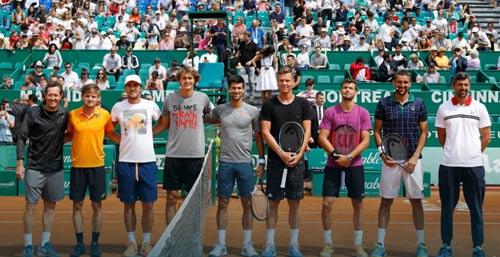 """Monte Carlo: """"Dị nhân"""" chấp cả Djokovic & 6 tay vợt - 1"""