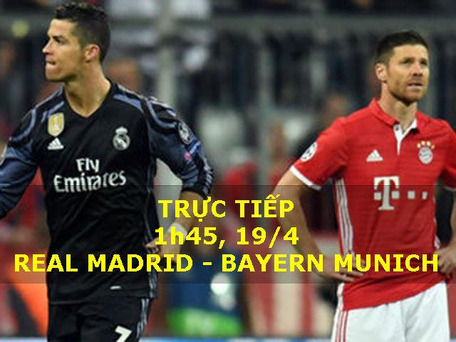TRỰC TIẾP bóng đá Real Madrid - Bayern: Mối lo Lewandowski