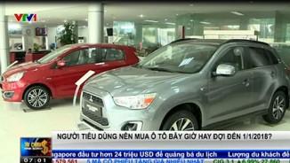 Giá ô tô giảm mạnh, nên mua ngay hay chờ tới sang năm?