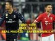 Chi tiết Real Madrid - Bayern: Vỡ òa vì Ronaldo (KT)