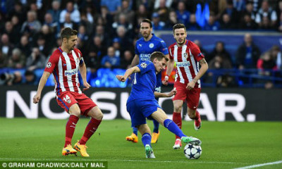 Chi tiết Leicester - Atletico: Nỗ lực bất thành (KT) - 3