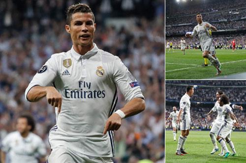 Siêu nhân Ronaldo & 100 bàn cúp C1: Thép đã tôi thế đấy - 1