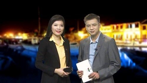 Phong cách lịch lãm xuyên suốt đáng nể của BTV Quang Minh VTV - 3