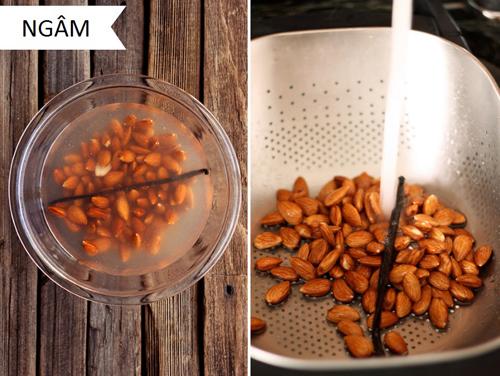 Mách bạn bí quyết làm sữa tươi từ hạt ngon - bổ - sạch - 2