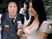 Cảnh cô giáo quá nóng bỏng khiến học sinh phun sữa, thầy giáo chết lặng